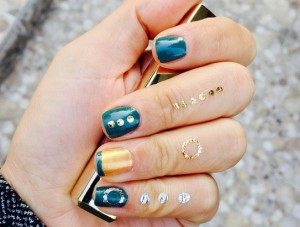 Nailart Flash Tattoo ile çok rahat