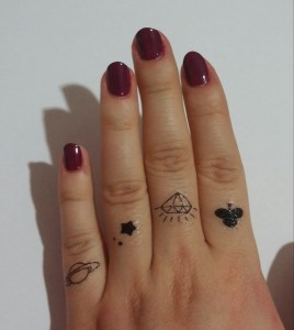 flash tattoo nailart (3)
